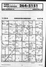 Kerkhoven T122N-R37W, Swift County 1986 Published by Farm and Home Publishers, LTD